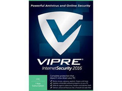 Threattrack Security Vipre Internet Sec 2016 1 Pc 1 Year Esd - MyChoiceSoftware.com