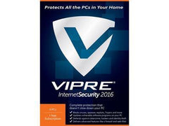 Threattrack Security Vipre Internet Sec 2016 5pc 1 Year Esd - MyChoiceSoftware.com