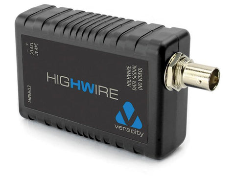 Veracity Highwire Ethernet Over Coax Device - MyChoiceSoftware.com