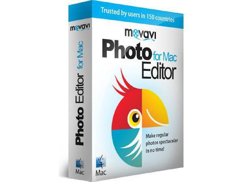 Movavi Software Movavi Photo Editior For Mac 3 Per Esd - MyChoiceSoftware.com
