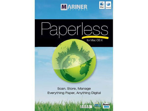 Mariner Software Inc Paperless Mac Esd - MyChoiceSoftware.com