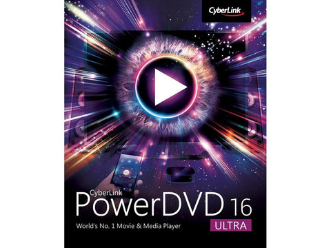 Cyberlink Powerdvd 16 Ultra Esd - MyChoiceSoftware.com