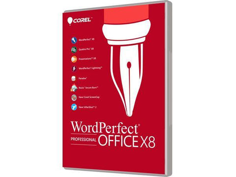 Corel Wordperfect Office X8 Pro Upgrade Esd - MyChoiceSoftware.com