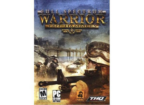 Nordic Games Gmbh Full Spectrum Warrior Ten Hammers Esd - MyChoiceSoftware.com