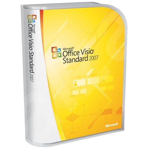 Microsoft Office Visio Standard 2007 - Retail Box - MyChoiceSoftware.com - 1