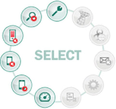 Kaspersky Lab Endpoint Security - (SELECT) - 5 License Pack 1 YR - MyChoiceSoftware.com