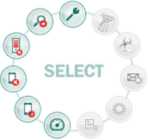 Kaspersky Lab Endpoint Security - (SELECT) 5 License Pack 3 YR - MyChoiceSoftware.com