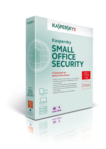 Kaspersky Small Office Security - ( v. 3.0 ) - subscription license ( 3 years ) - 20 workstations, 20 devices, 2 file servers - Win, Android - MyChoiceSoftware.com