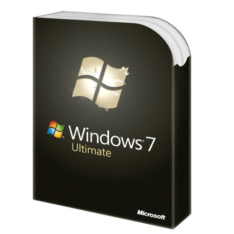 Microsoft Windows 7 Ultimate w/SP1 - 1 PC License - MyChoiceSoftware.com