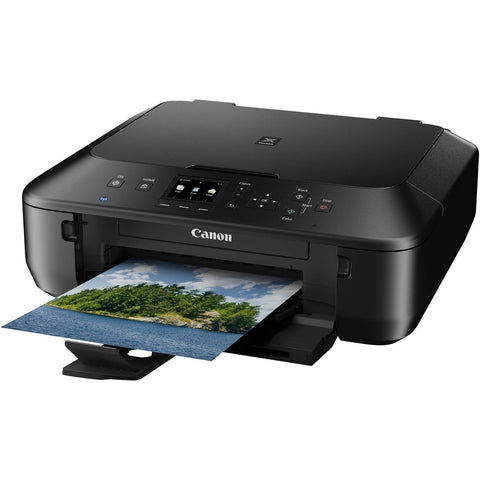 Canon PIXMA MG5520 Wireless All-In-One Color Photo Printer with Scanner, Copier and Auto Duplex Printing, Black (Tablet Ready) - MyChoiceSoftware.com