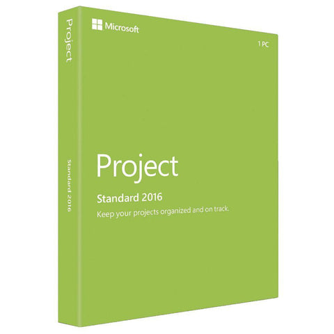 Microsoft Project Standard 2016 - MyChoiceSoftware.com - 1