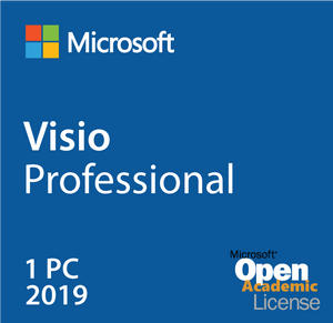 Microsoft Visio Professional 2019 Open Academic Deal