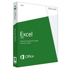 Microsoft Excel 2013 - Retail Box (Home Use - Non Commerical) - MyChoiceSoftware.com - 1