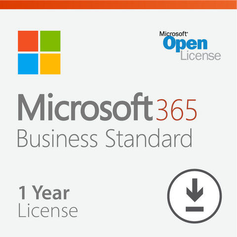 Microsoft 365 Business Standard - 1 Year License