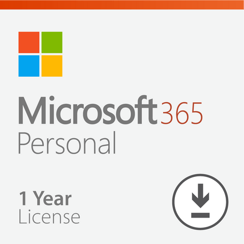 Microsoft 365 Personal - 1 Year License