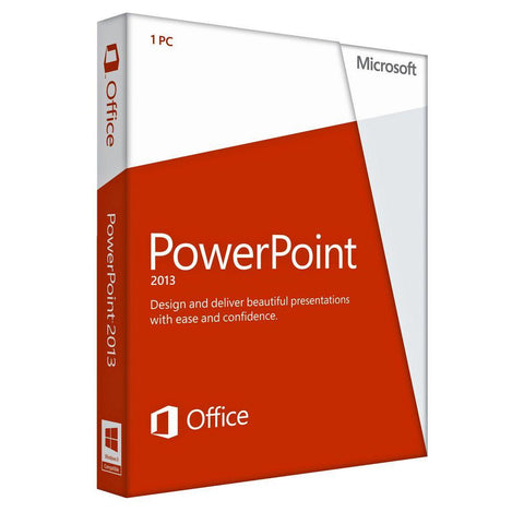 Microsoft Powerpoint 2013 - License.