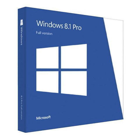 Microsoft Windows 8.1 Pro - License.