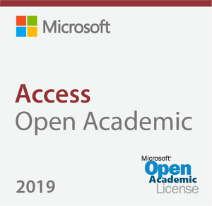 Microsoft Access 2019 Open Academic Deal