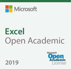 Microsoft Excel 2019 Open Academic Deal