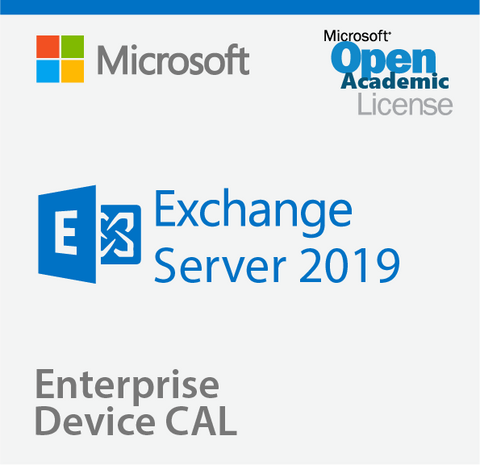 Microsoft Exchange Server 2019 Enterprise Device CAL - Open Academic
