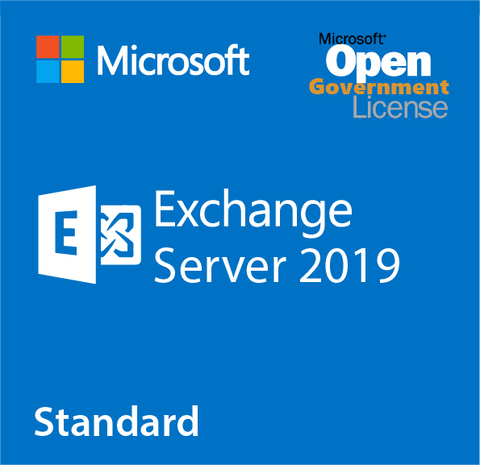 Microsoft Exchange Server 2019 Standard - Open Government.