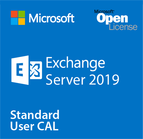 Microsoft Exchange Server 2019 Standard User CAL - Open License