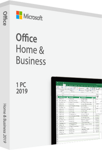Microsoft Office Home and Business 2019 - All Languages - License - Download Deal