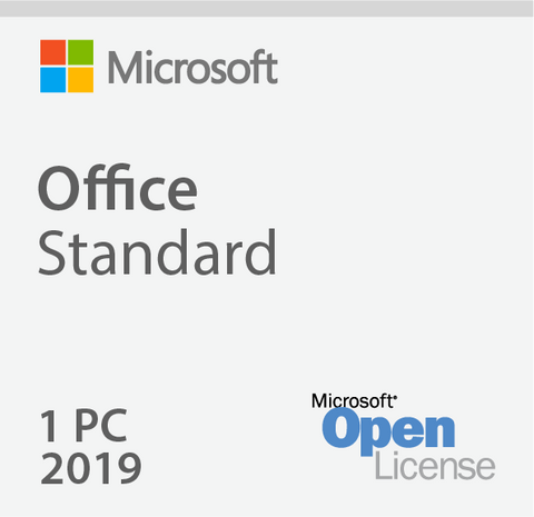 Microsoft Office 2019 Standard - Open License