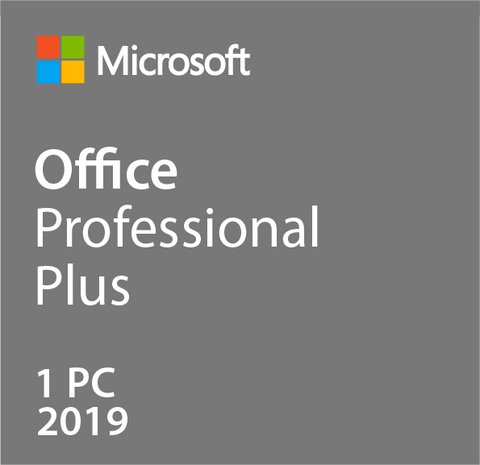 Microsoft Office Professional Plus 2019 License