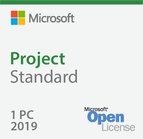 Microsoft Project 2019 Standard Open License