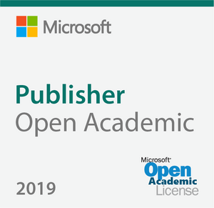 Microsoft Publisher 2019 Open Academic Deal