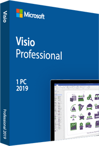 Microsoft Visio Professional 2019 Retail Box Deal