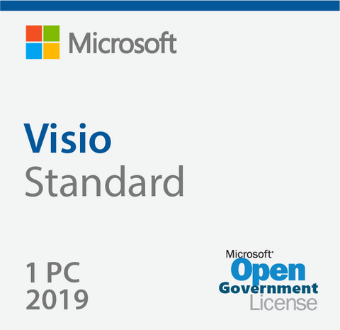 Microsoft Visio Standard 2019 Open Government