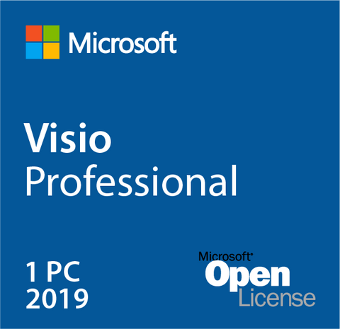 Microsoft Visio Professional Pro 2019 License Download