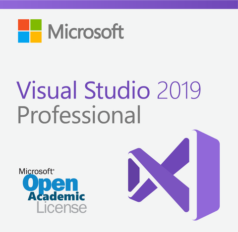 Microsoft Visual Studio 2019 Professional - Open Academic