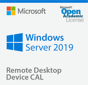 Microsoft Windows Server 2019 Remote Desktop Device CAL - Open Academic Deal