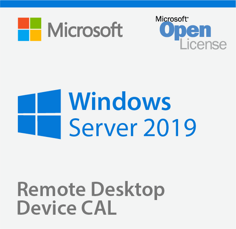 Microsoft Windows Server 2019 50 Remote Desktop Device CALs