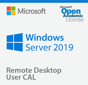 Microsoft Windows Server 2019 Remote Desktop User CAL - Open Academic Deal