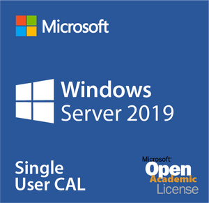 Microsoft Windows Server 2019 Single User CAL - Open Academic Deal