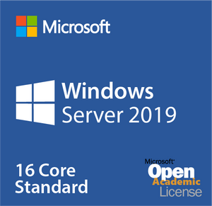 Microsoft Windows Server 2019 Standard 16 Core Open Academic Deal