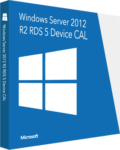 Microsoft Server 2012 R2 RDS 5 Device CAL