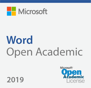 Microsoft Word 2019 - Open Academic Deal
