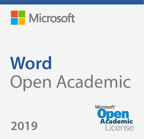 Microsoft Word 2019 - Open Academic