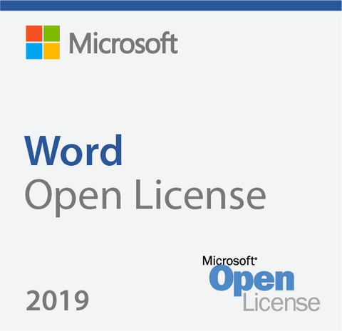 Microsoft Word 2019 for Mac Open License