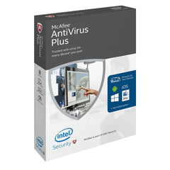 (Renewal) McAfee AntiVirus Plus - PC - 3 PCs - MyChoiceSoftware.com
