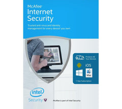 McAfee Internet Security 2016 - 3 PCs - MyChoiceSoftware.com
