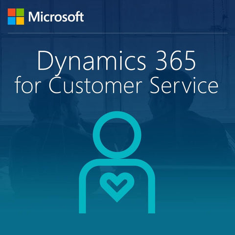 Microsoft Dynamics 365 for Customer Service, Enterprise Edition - From SA from Customer Service User CAL - Student