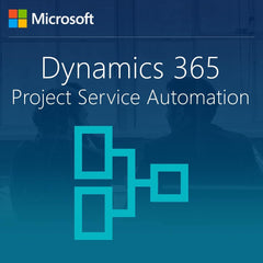Microsoft Dynamics 365 for Project Service Automation, Enterprise Edition for CRMOL Basic + Project Service Add-On - GOV