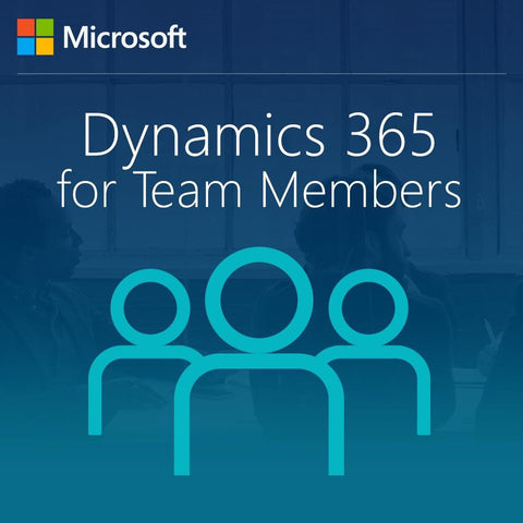 Microsoft Dynamics 365 for Team Members, Enterprise Edition - From SA for CRM Essentials for Students