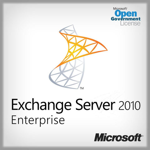 Microsoft Exchange Server 2010 Enterprise Open Gov License